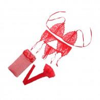 238.77 руб. 27% СКИДКА|4 шт. бюстгальтер комплект женского белья Drop A B C CUP бренд женский кружевной пикантный открытый бюстгальтер ночное белье стринги подвязка пояс Черный Розовый Красный 2017-in Комплекты бюстгальтеров и трусиков from Нижнее белье и пижамы on Aliexpress.com | Alibaba Group
