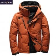 3579.71 руб. 45% СКИДКА|2018 Высокое качество 90% белый пуховик для мужчин пальто зимние парки Мужская теплая брендовая одежда Зимний пуховик верхняя одежда-in Пальто и куртки from Мужская одежда on Aliexpress.com | Alibaba Group