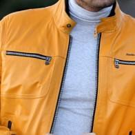 Мужская кожаная куртка Franko Armondi ME-19434K-1293 - Мужские кожаные куртки