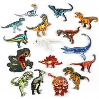 26.82 руб. 32% СКИДКА|Нашивки с вышивкой динозавра для одежды DIY полосы Аппликации Наклейки для одежды железо на значки животных @ F-in Заплатки from Дом и сад on Aliexpress.com | Alibaba Group