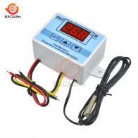 XH-W3002 DC 12V 24V AC 110V-220V Digital LED Temperature Controller 10A Thermostat Control Switch With Probe Sensor W3002