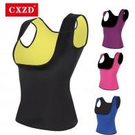 CXZD, camiseta adelgazante de neopreno de talla grande 2019 para mujer, camiseta adelgazante, chaleco y blusas para el cuerpo, chaleco para pérdida de peso en el pecho y Abdomen