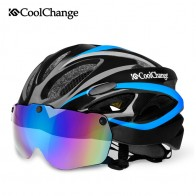 1287.91 руб. 40% СКИДКА|CoolChange Bicycle Helmet EPS Insect Net Road MTB Bike Windproof Lenses Integrally molded Helmet Cycling Casco Ciclismo-in Велосипедный шлем from Спорт и развлечения on Aliexpress.com | Alibaba Group