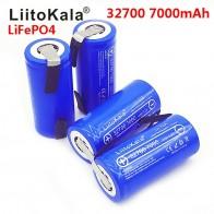 2019 LiitoKala Lii 70A 3,2 V 32700 7000mAh LiFePO4 батарея 35A непрерывный разряд максимум 55A батарея высокой мощности + никелевые листы-in Перезаряжаемые батареи from Бытовая электроника on AliExpress