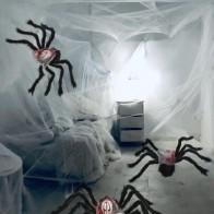Хэллоуин декоративный объект в форме паука 1шт