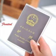 35.58 руб. 5% СКИДКА|Силиконовые прозрачные непромокаемые держатели для удостоверений личности с защитой от грязи Обложка для паспорта визитная карточка кредитные карты купить на AliExpress