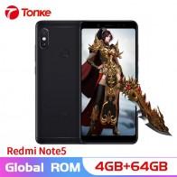 9930.86 руб. 19% СКИДКА|Xiaomi телефон Redmi Note 5 64 Гб ПЗУ 4 Гб ОЗУ Snapdragon 636 Восьмиядерный Двойная камера 12 Мп + 5 Мп 5,99
