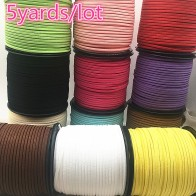 US $0.77 22% OFF|5yards/lot 3mm Flat Faux Suede Braided Cord Korean Velvet Leather Handmade Beading Bracelet Jewelry Making Thread String Rope-in Jewelry Findings & Components from Jewelry & Accessories on Aliexpress.com | Alibaba Group