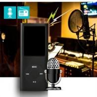 Портативный высококачественный 1,8-дюймовый цветной экран цифровой MP3/MP4 плеер портативный fm-радио рекордер