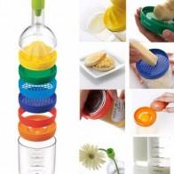 Новый многофункциональный набор кухонных инструментов 8 в 1, Многофункциональные кухонные аксессуары, гаджет, инструменты для кухонных бут... - Штучки для кухни