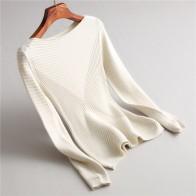 1694.93 руб. 52% СКИДКА|Иннасофан свитер для женщин осень зима вязаный свитер Евро американская мода элегантный свитер сплошной цвет с длинными рукавами-in Пуловеры from Женская одежда on Aliexpress.com | Alibaba Group
