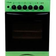 Газовая плита ЛЫСЬВА ЭГ 404 МС-2у,  зеленый