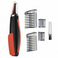 FANHHUI LED Multi-function Double-head Shaver Nose Hair Electric Trimmer Men Removal Machine Haircut with 4 Combs Trimmer