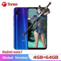 11442.69 руб. |Глобальная версия xiaomi Redmi Note 7 4 ГБ ОЗУ 64 Гб ПЗУ Смартфон Snapdragon 660 Восьмиядерный 6,3