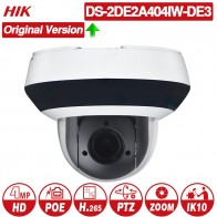 11386.99 руб. 20% СКИДКА|Hikvision оригинальная PTZ ip камера DS 2DE2A404IW DE3 4MP 4X zoom сеть POE H.265 IK10 ROI WDR DNR купольная камера видеонаблюдения-in Камеры видеонаблюдения from Безопасность и защита on Aliexpress.com | Alibaba Group