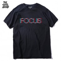 US $6.14 23% OFF|THE COOLMIND pure 100% cotton short sleeve fucus printed funny men Tshirt casual o neck loose summer T shirt for men tops tees-in T-Shirts from Men