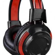 Купить Гарнитура игровая OKLICK HS-G300 ARMAGEDDON,  черный  / красный в интернет-магазине СИТИЛИНК, цена на Гарнитура игровая OKLICK HS-G300 ARMAGEDDON,  черный  / красный (337457)