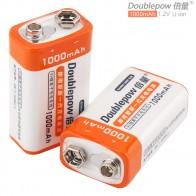 1012.25 руб. 32% СКИДКА|Doublepow 2 шт. 9 В 1000 мАч высокое Ёмкость литий ионный ЛСД Перезаряжаемые Батарея с 1200 цикл для мультиметр/Беспроводной микрофон /сигнал тревоги-in Подзаряжаемые батареи from Бытовая электроника on Aliexpress.com | Alibaba Group