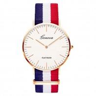 € 0.96 5% de DESCUENTO|Correa de Nylon estilo de las mujeres del cuarzo reloj relojes de marca de moda Casual reloj de pulsera 2018 Venta caliente de moda Relojes en Relojes de mujer de Relojes en AliExpress.com | Alibaba Group