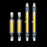 LED R7S Glass Tube COB Bulb 78MM 20W 118MM 40W R7S Corn Lamp J78 J118 Replace Halogen Light 50W 90W AC 220V 230V Lampadas