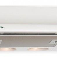 Вытяжка встраиваемая Elikor Интегра 50П-400-В2Л белый управление: кнопочное (1 мотор)