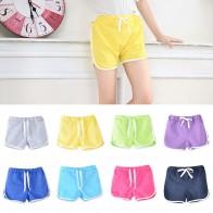 281.32 руб. 10% СКИДКА|Детские шорты для детей от 3 до 13 лет летние спортивные шорты для мальчиков и девочек, штаны повседневные детские штаны ярких цветов, штаны, штаны купить на AliExpress