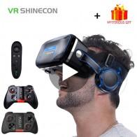 1306.51 руб. |VR Shinecon 10,0 шлем 3D очки виртуальной реальности шлем для iPhone Android смартфон смарт телефон очки игры 3 D Lunette-in Очки 3D/VR from Бытовая электроника on Aliexpress.com | Alibaba Group