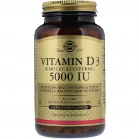 Solgar, Vitamin D3 (Cholecalciferol), 5,000 IU, 240 Vegetable Capsules - Vitamin D