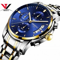 US $17.99 60% OFF|Relogio Masculino NIBOSI Mens Watches Top Brand Luxury Dress Famous Brand Watch Men Waterproof Calendar/Luminous Watch gold Men-in Quartz Watches from Watches on Aliexpress.com | Alibaba Group