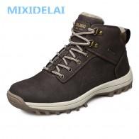1534.61 руб. 44% СКИДКА|MIXIDELAI/Новинка; модные мужские ботинки из искусственной кожи; удобная мужская обувь; ботильоны; короткая плюшевая зимняя теплая обувь для мужчин; размеры 39 46-in Базовые сапоги from Туфли on Aliexpress.com | Alibaba Group