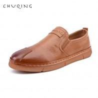 1283.31 руб. 48% СКИДКА|CHUQING/мужские яркие шлепанцы; Zapatos; кожаная повседневная обувь для вождения-in Мужская повседневная обувь from Туфли on Aliexpress.com | Alibaba Group