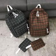 764.04 руб. 10% СКИДКА|Модный женский рюкзак, школьная сумка для студенток, новая дорожная сумка, клетчатая стильная сумка на плечо для женщин, 2019 сумка рюкзак, ранец-in Рюкзаки from Багаж и сумки on Aliexpress.com | Alibaba Group