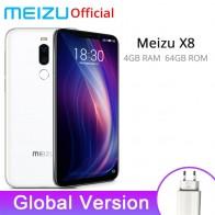 11250.52 руб. |Глобальная версия Meizu X8 4 GB 64 GB Смартфон Snapdragon 710 Восьмиядерный 6,15