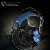 US $35.99 10% OFF|SADES Locust Plus Virtual 7.1 Surround Sound Headphones High Quality Headset Headphone for Gamer with RGB Light-in Headphone/Headset from Consumer Electronics on Aliexpress.com | Alibaba Group