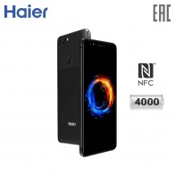 Смартфон Haier Power P10:    мощный аккумулятор 4000 мАч,    NFC с поддержкой Android Pay и карты
