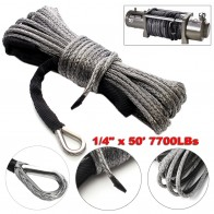 US $15.13 22% OFF|Winch Rope String Line Cable with Sheath Gray Synthetic Towing Rope 15m 7700LBs Car Wash Maintenance String for ATV UTV Off Road-in Towing Ropes from Automobiles & Motorcycles on Aliexpress.com | Alibaba Group