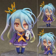 US $12.23 32% OFF|NO GAME NO LIFE Shiro Q version Anime Action Figure PVC New Collection figures toys Collection for Christmas gift-in Action & Toy Figures from Toys & Hobbies on Aliexpress.com | Alibaba Group