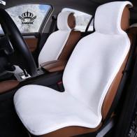 € 16.95 25% de DESCUENTO|Coche corona gran venta Universal asiento de coche accesorios interiores Material de piel sintética funda de asiento de coche fácil de instalar 5 colores 2016new-in Fundas de asiento de automóviles from Automóviles y motocicletas on Aliexpress.com | Alibaba Group