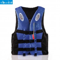 Professional Adult Buoyant Life Vest Polyester Water Sports Kids Jacket Light Strip Swimming Boating Ski Drifting Jacket Vest