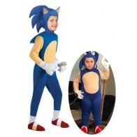 Детский костюм для косплея, аниме «Соник Ежик», для девочек, Детский костюм для Хэллоуина - Костюмы для хэллоуина