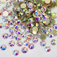 US $8.25 45% OFF|ss16 ss20 ss30 Excellent Top Quality Clear AB Nail Rhinestone Flatback Non Hot Fix Rhinestones 2088 Style 16 Cut Facets Y3623-in Rhinestones from Home & Garden on Aliexpress.com | Alibaba Group