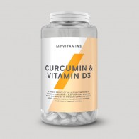 Curcumin & Vitamin D3 Capsules - Vitamins and Supplements