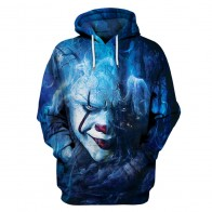 US $20.3 |Autumn Winter Thin Stylish Clown 3d  Stephen King