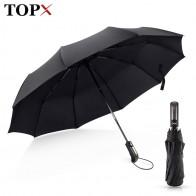 286.64 руб. 46% СКИДКА|Ветростойкий складной автоматический зонт дождь для женщин авто Роскошные Большие ветрозащитные зонты, дождь для мужчин черное покрытие 10 к зонтик-in Зонтики from Дом и животные on Aliexpress.com | Alibaba Group