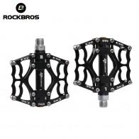 "ROCKBROS Mountain Bike Bicycle Pedal MTB Road Bike Ultralight Pedals Aluminum Alloy Axle 9/16"" Cycling Seald Bearing BMX Pedal"