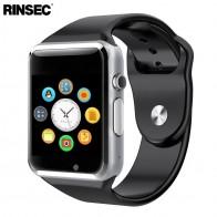 1494.95 руб. |A1 Смарт часы Bluetooth Smartwatch Поддержка 2 г/м² сим карты TF карты с Камера Сенсорный экран лучше, чем DZ09 GT08 Y1 купить на AliExpress