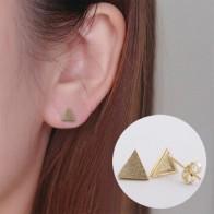 Женские Геометрические серьги Shuangshuo, Винтажные серьги-пусеты с геометрическим рисунком - Украшения до 300 руб