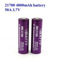269.5 руб. 20% СКИДКА|Мощный 21700 4800 мАч высокой емкости с 50A высокую скорость разряда 3,7 В 21700 аккумуляторная батарея оптовая цена (1 шт.)-in Подзаряжаемые батареи from Бытовая электроника on Aliexpress.com | Alibaba Group