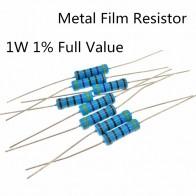 43.82 руб. 5% СКИДКА|30 ~ 100 шт./лот 1 Вт 1ohm 1% радиальные DIP Металлические пленочные осевые резисторы 1 Ом 1 Вт-in Резисторы from Электронные компоненты и принадлежности on Aliexpress.com | Alibaba Group