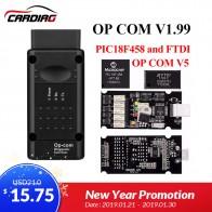 Op com V1.65 V1.78 V1.99 с PIC18F458 FTDI op com OBD2 авто инструмент диагностики для Opel OPCOM шина сети локальных контроллеров V1.7 может быть Обновления флэш купить на AliExpress